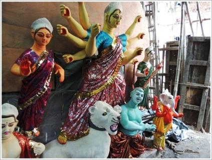 Kumortuli Durga Process