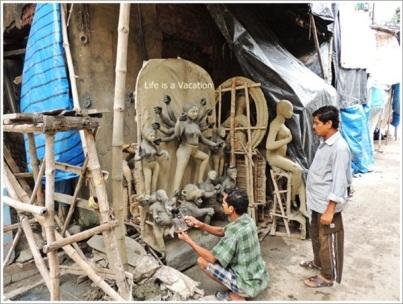 Kumortuli Durga Idol