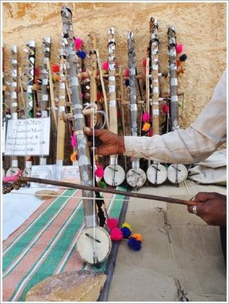 Folk Instrument Ravanahatha