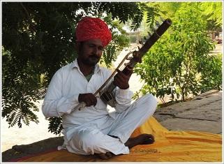 Rajasthani Folk Instrument Ravanahatha