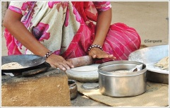 Jodhpur Village Tour Roti Makin