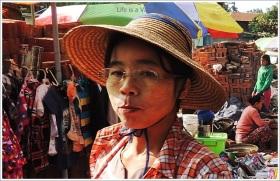 Myanmar Tamu Lady Hat