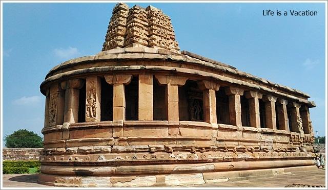 Aihole Durga Temple Side View
