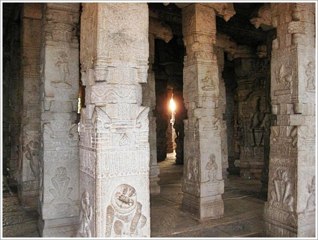Lepakshi Temple Complex in Andhra