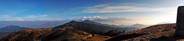 Sandakphu Panorama